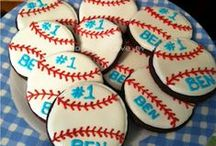 Baseball Birthday Party Ideas / Batter up! Hit a home run with these sports-themed gifts, activities, cupcakes, and concessions. / by Parents Magazine
