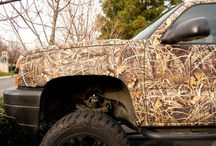 Camouflage Vinyl Truck Kits / Some of the awesome camo kits we offer at www.CamoMyRide.com From full vehicle wraps to accent kits. ATV, UTV's Golf Cart, Boats, you name it, we've got you covered! Call us at 801 833-3820 or visit our web site at www.CamoMyRide.com