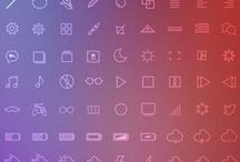 - : ICONOGRAPHY : - / Iconography can also be an efficient way to communicate a concept in a small amount of space, which is increasingly important in the era of the shrinking screen.