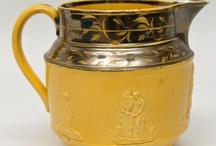Tanware,Canaryware,Yellow Ware,Mochaware, Redware / by Jane Kurtz