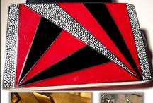 Cigarette ,Cigar Cases - Boxes - Tins / Love the Design, Color, Etc. / by Jane Kurtz