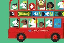 B U S / Bus   Double decker   London   Red bus   Travel   Bus Illustration