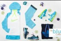 The Blue Collection / Check out the latest Lady Foot Locker gear in a color that is hard to resist!  http://bit.ly/1dlqFOM / by Lady Foot Locker (Official)