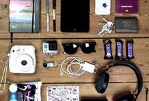 Travel Must Haves / Tools, tips, gadgets and travel essentials every city girl traveller should own.