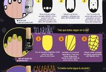 Halloween / Ideas de maquillaje para halloween: Uñas, ojos, labios...