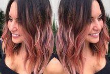 Coloración para cabellos oscuros