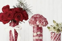 Flower Arrangements / Winter, Spring, Summer and Fall Decorating Ideas