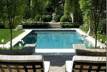 Outdoor Spaces & Pools / by Jennifer Puglise