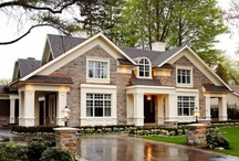 Beautiful  Homes / by Holly Monroe
