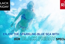 Black Friday Hotel Deals  / Riu Hotels and Resorts : Black Friday Specials / Black Friday Deals 2012 Check out our Black Friday hotel deals and enjoy the sparkling blue sea at any of our sunny destination: Aruba, Bahamas, Bulgaria, Cape Verde, Costa Rica, Dominican Republic, Jamaica, México, Morrocco, Panama, Portugal, Spain, Tunisia, Turkey and Florida. www.riu.com