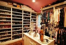 My closet one day