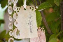 Wedding   |  Paperworks / Menus, Escort Cards, Programs and other Paperwork Inspiration