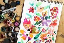 Magic Flowers by Cayena Blanca