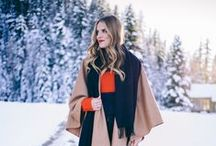 Let It Snow / Cozy up when the temperatures plummet with some hot styles perfect for those frosty months.