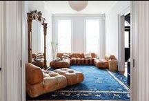 Bright color interiors