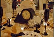 New Years Eve Party Ideas / Having a party to ring in 2014? Well here are some adorable ideas I have come across. let me know if you use any, I'd love to know how it turned out. Enjoy!