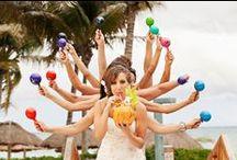 Beach Wedding - Picture Ideas  / Inspiration board about Beach Wedding picture ideas. Memories will last forever!  Inspiración para fotos de boda en la playa. ¡Los recuerdos serán eternos!