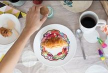 Cayena Blanca tableware