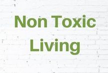 Non Toxic Living / Helping you life toxin free with green cleaning tips