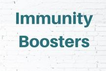 Immunity Boosters / Boost your immune system naturally