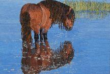 Rughooking Horses