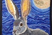 Rughooking Rabbits