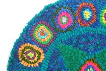 Rughooking Geometrics, Quilt Patterns