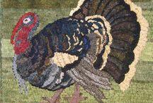 Rughooking Turkey