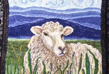 Rughooking Sheep, Goats
