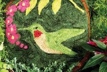 Rughooking Hummingbirds