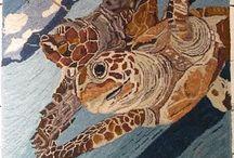 Rughooking Turtles, Frogs, Toads