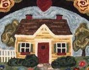 Rughooking Houses, Buildings