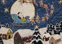 Rughooking Christmas