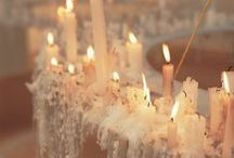 Chandelier ❥ Candles ❥ Ambient Light