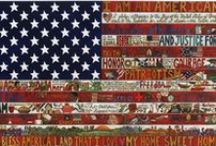 Red, White & Blue  / by Peggy Jones