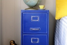 Filing Cabinet Refresh / Customize your filing cabinet to make it fit your style.