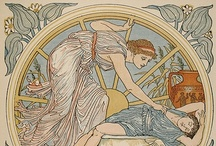 Artist: Walter Crane / A collection of the paintings and illustrations of English artist Walter Crane (1845–1915)