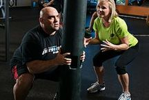 Personal Training / Whether you've been working out for years or are planning to start, we can tailor a training regimen to suit your individual needs, schedule, and budget. We'll help you create a workout routine and nutrition program, and we'll show you how to use our handy fitness calculators. We can even accommodate the young athletes in your family.