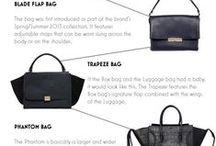 Handbags/Fashion/Small Leather Goods / Some ideas for fashion handbag design and leather goods.  Follow our blog at www.fashionslowlane.com #fashionslowlane www.tarasauvage.com #tarasauvage