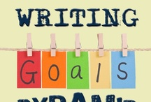 Writing Goals ... Get Some! / Need some ideas or motivation? Wander through this board... / by Write | Market | Design