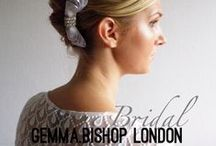 gbl • bridal accessories / My designs also stretch to bridal wear for bespoke pieces get in touch!