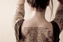 Literary tats / by Jill Francis