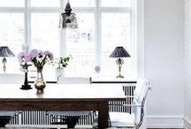 dine in: decor. / dining room decor