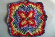Crochet: Granny Squares Embelished / by Cindy Brown