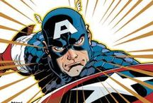 Comic Art: Captain America / Super Soldier, Living Legend, Sentinel of Liberty