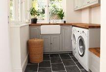 scrub: laundries. / laundry room inspiration