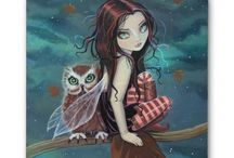 Owls & Fairies!