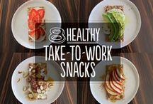 Healthy Snacks / Healthy, whole food ingredient snacks! Better than what you find in the vending machine! :) / by Juice Recipes