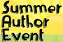SUMMER AUTHOR EVENT / Join 30+ Phoenix authors on August 16th for the Summer Author Event. Giveaways, goodie bags, and the chance to meet and greet local authors, including a number of first-time authors. Phoenix Center for the Arts | 1202 N. 3rd Street, Phoenix 85004 | http://summerauthorevent.com / by Write | Market | Design