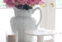 Floral Decor / Ideas for floral or plant displays around the house
